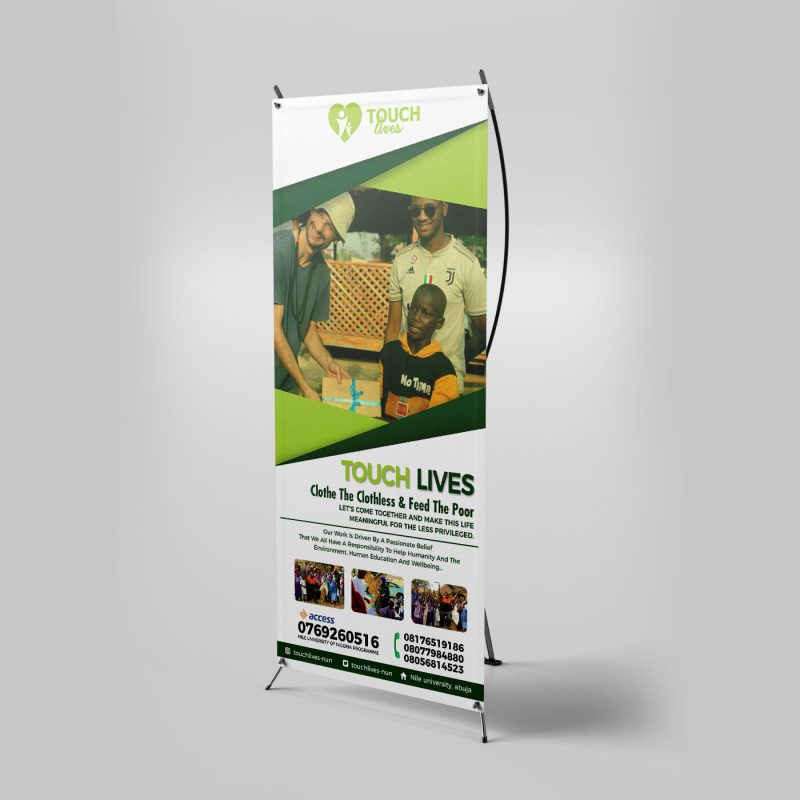X- Frame Banner Stand